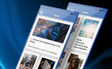 Responsive App Template over Nieuws website