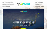 Responsivt Go World - Travel Store OpenCart-mall