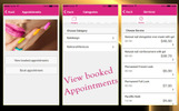 Nail Design Appointment App Template