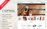"OpenCart Vorlage namens ""Optical Store"""