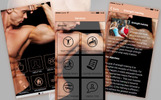 Responsive App Template over Fitness
