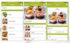 "Template per Applicazioni Responsive #65260 ""Catering & Home Cooking"" Screenshot grande"