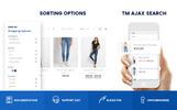 Responsives Magento Theme für Jeans