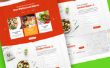 Foodier - Creative Parallax PSD Template