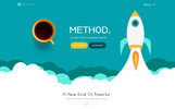 Method,  A Huge Multi-Concept Tema WordPress №65681
