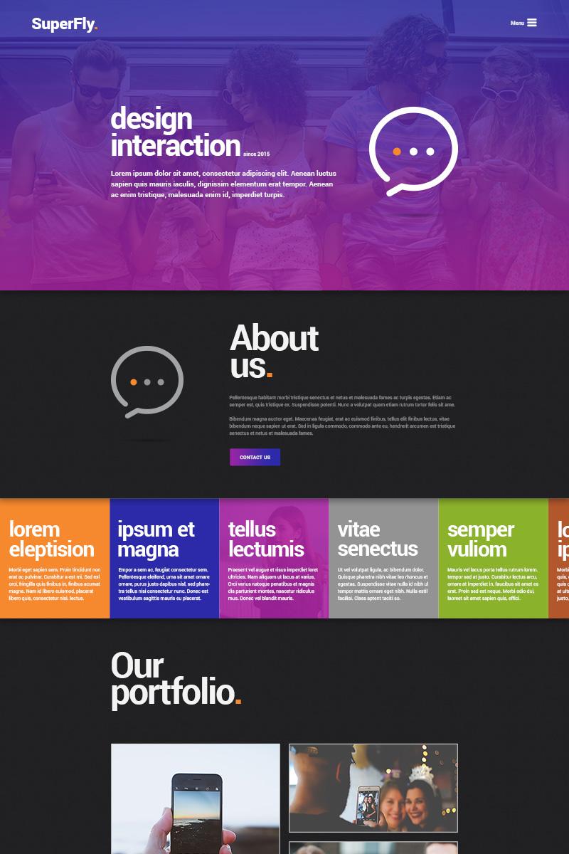 PSD Vorlage #65507 für Web Design
