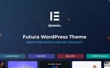 Responsivt Futura - MultiPurpose High-Perfomance Elementor & WooCommerce-tema