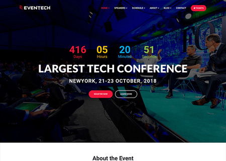 Eventech - Conference Event