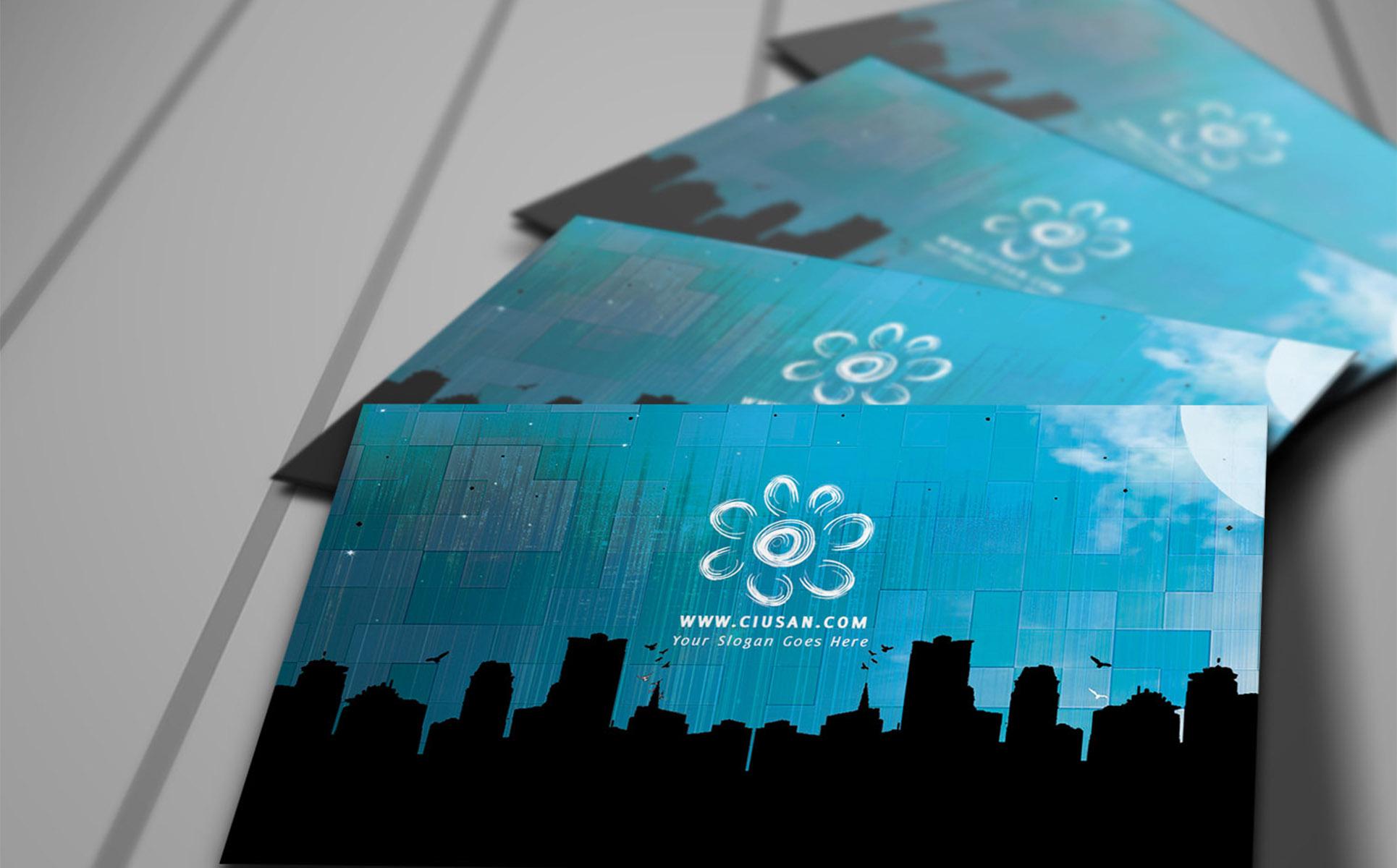 Creative blue business card psd template 65117 creative blue business card psd template accmission Gallery