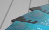 Creative Blue Business Card PSD Template