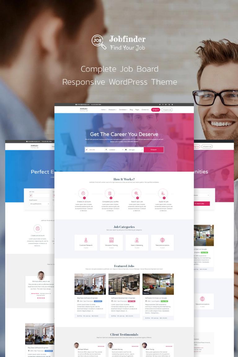 Jobfinder - Job Board WordPress Theme