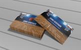 Basketball Business Card PSD Template