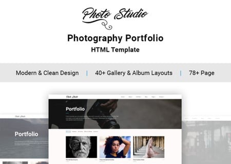 Photo Studio HTML5