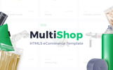 Multishop - Responsive eCommerce HTML Website Template