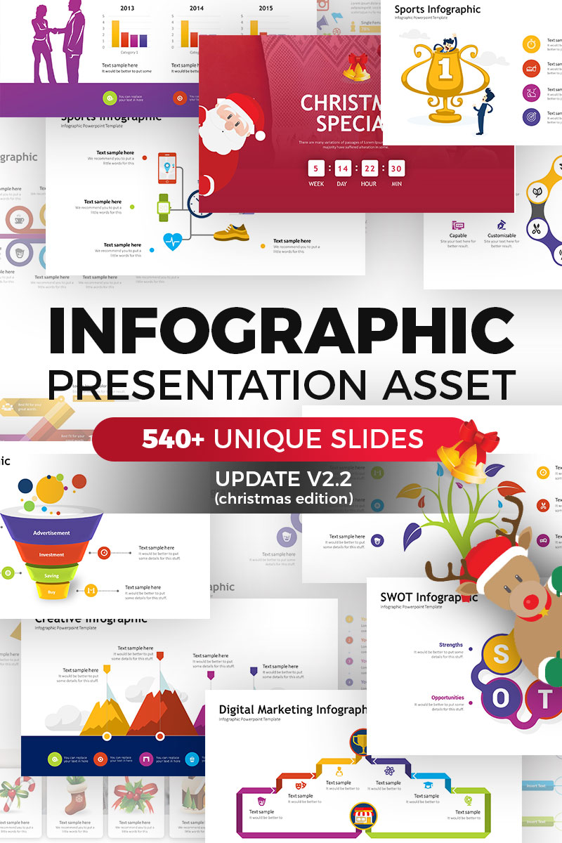 Infographic Pack Presentation Asset V2 2 Powerpoint Template 67716