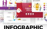Набір шаблонів інфографіки для PowerPoint презентацій