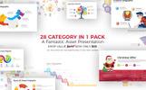 Infographic Pack - modèle PowerPoint Presentation Asset v2.1