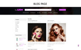 Lion Cosmetic - Beauty Store Tema PrestaShop  №71770
