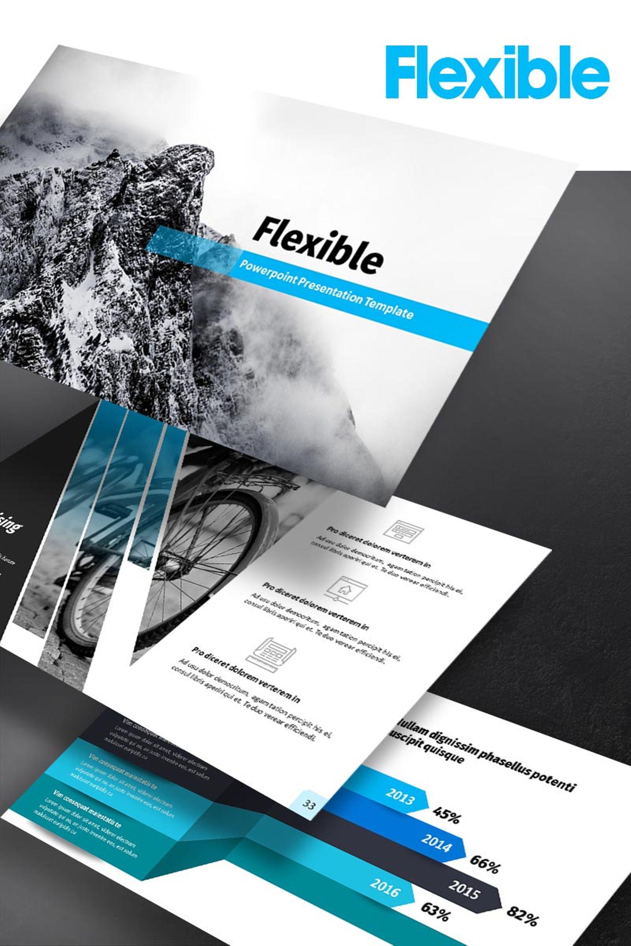 Template powerpoint para sites de medico 65151 flexible template de apresentao em powerpoint toneelgroepblik Gallery