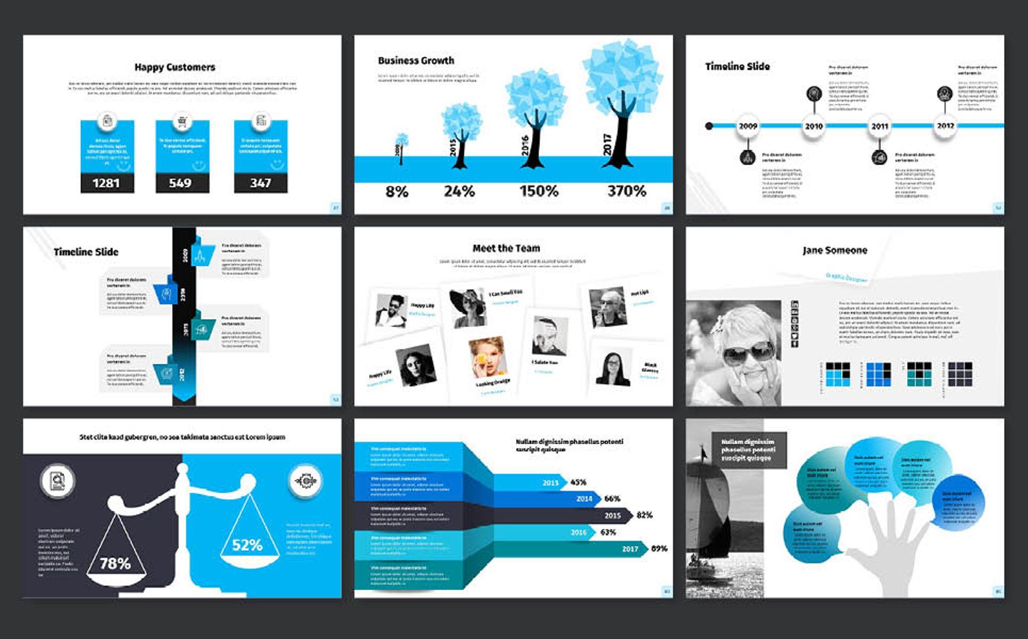 Flexible powerpoint template 65151 flexible powerpoint presentation template big screenshot toneelgroepblik Image collections