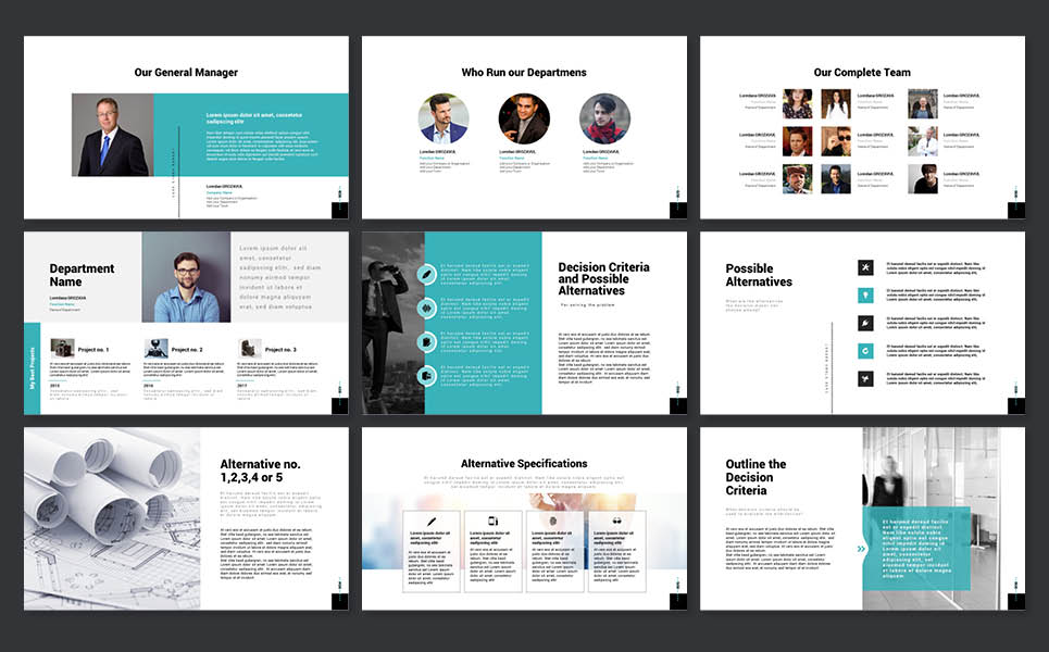 Case Study Report Powerpoint Template