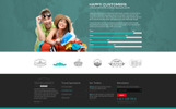 "Tema Siti Web Bootstrap #65337 ""Travel Agency"""