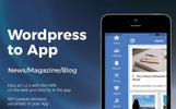 Wordpress News iOS & Android App Template