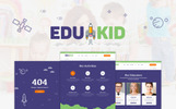 """Edukid - Kindergarten & School Education"" Responsive WordPress thema"