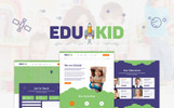 """Edukid - Kindergarten & School Education"" thème WordPress adaptatif"