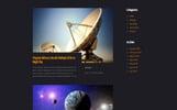 """Modello Siti Web Responsive #71708 """"Science - Multipurpose HTML5"""""""