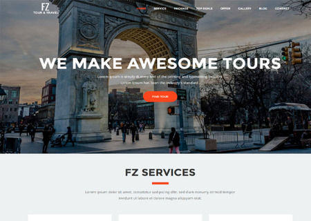 FZ - Tour & Travel Agency
