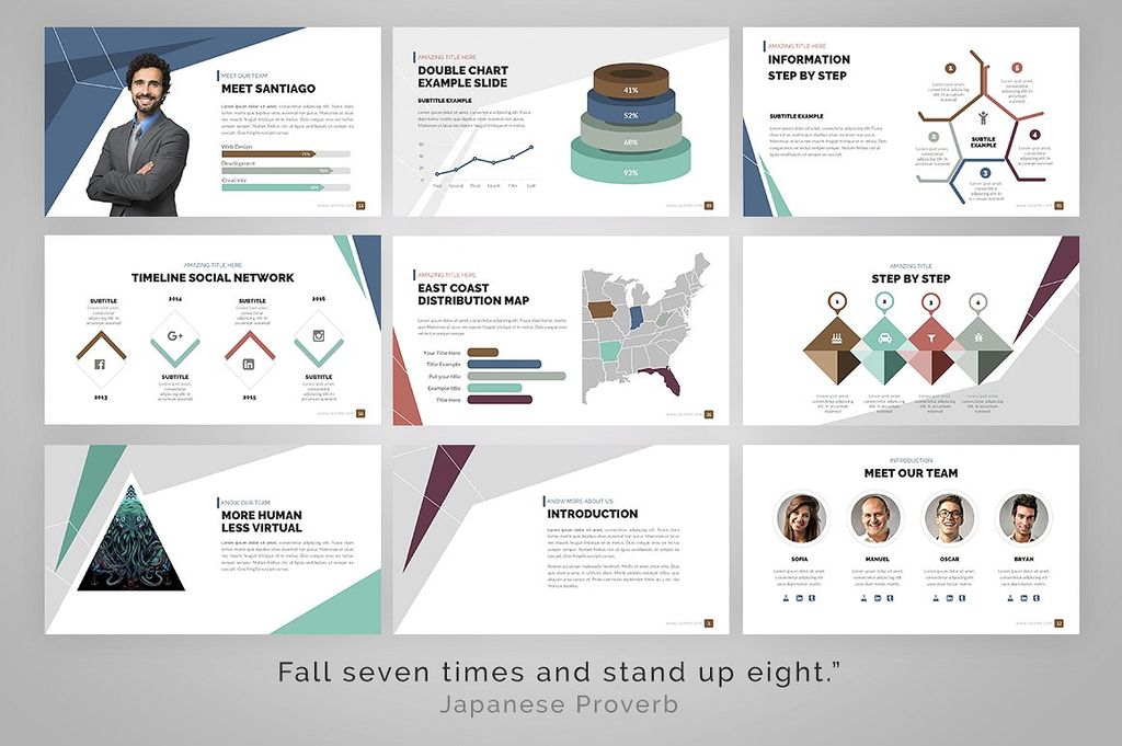 delta presentation powerpoint template 67273