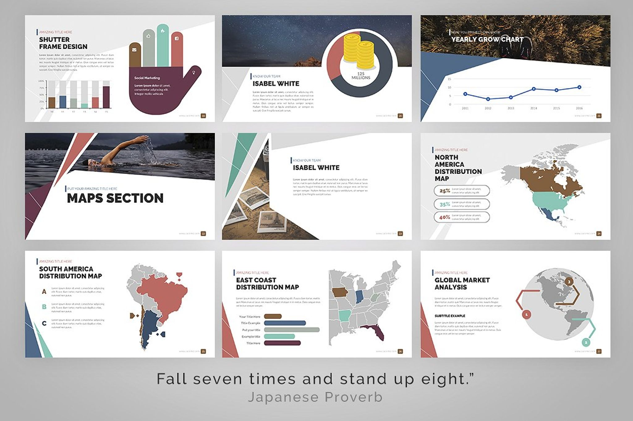 delta presentation powerpoint template 67273