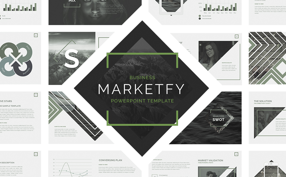 marketfy powerpoint template #64463, Powerpoint templates