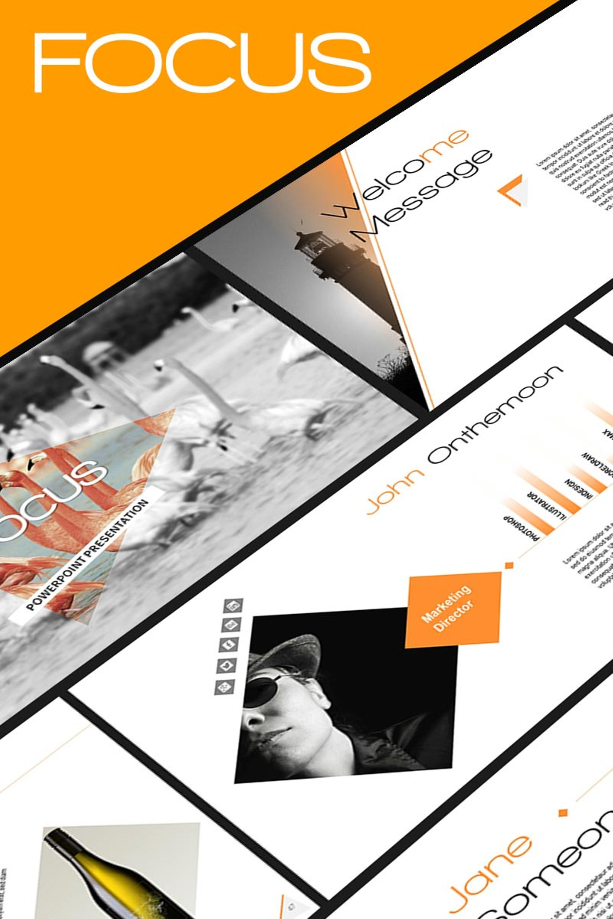 Focus PowerPoint Template #65258