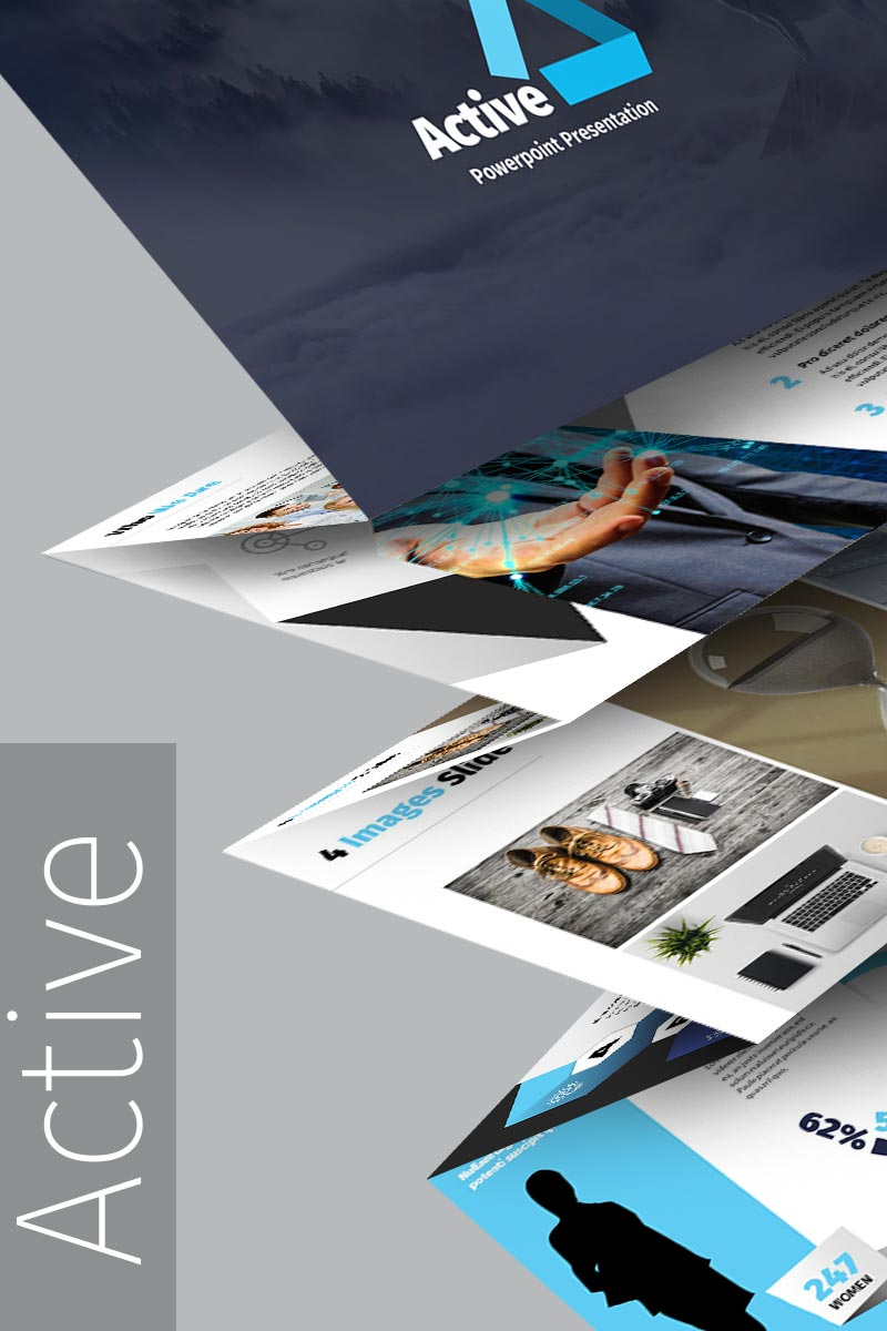 Active PowerPoint Template #65224