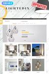 Lightedix - адаптивний PrestaShop шаблон магазину світлотехніки