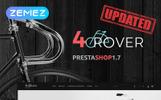 Responsywny szablon PrestaShop 4Rover - Bike Store #66262