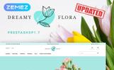 Tema de PrestaShop para Sitio de Tienda de Flores
