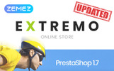 Extremo Tema PrestaShop  №67004