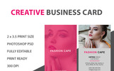 "PSD Vorlage namens ""Professional Business Cards"""