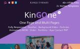 KingOne Landing Page Template
