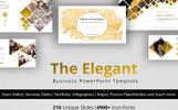 "PowerPoint Vorlage namens ""The Elegant"""