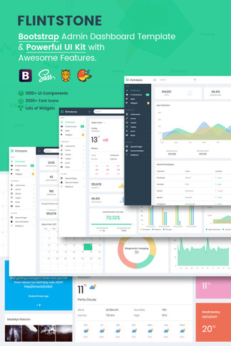 61 Admin Templates Bootstrap Dashboard Themes Template Monster