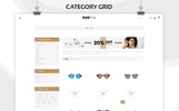 """Eyetra - The Glasses Store"" Bootstrap WooCommerce Thema"