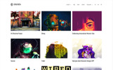 WPML Ready WordPress thema over Kunst Galerij