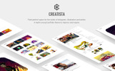 Creatista - Portfolio WordPress Theme