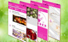 Floristic & Garden center iOS & Android Template para Aplicativo №65315 Screenshot Grade