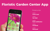 Floristic & Garden center iOS & Android Template para Aplicativo №65315