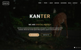 Kanter - Creative Responsive Minimalistic HTML Website Template